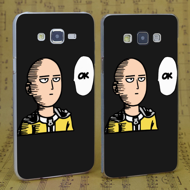 One Punch Man Case Cover For Samsung Galaxy J 3 5 7 A 3 5 7 8 9 2016