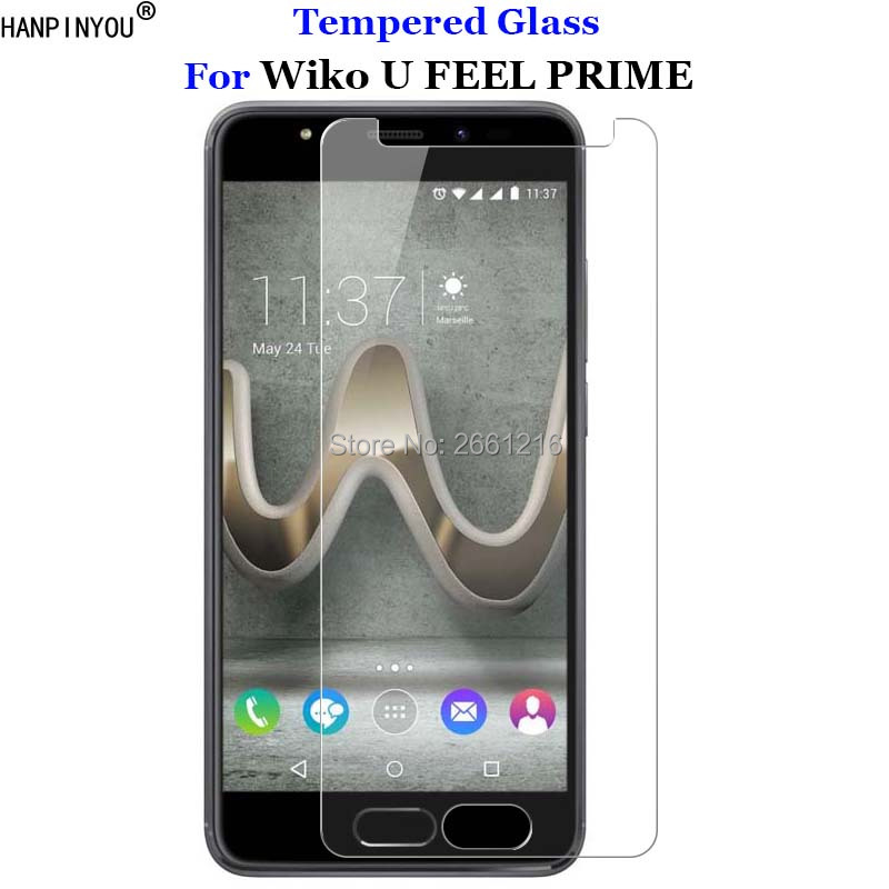 For Wiko U FEEL PRIME Tempered Glass 9H 2.5D Premium Screen Protector Film For Wiko UFEEL PRIME 5.0For Wiko U FEEL PRIME Tempered Glass 9H 2.5D Premium Screen Protector Film For Wiko UFEEL PRIME 5.0