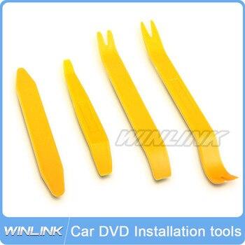 ¡Envío Gratis! 4 piezas de instalación Kit de herramientas de desmontaje para DVD de coche en Panel