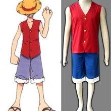 Compra one piece luffy cosplay costume y disfruta del envío gratuito ... 8ef61442b79