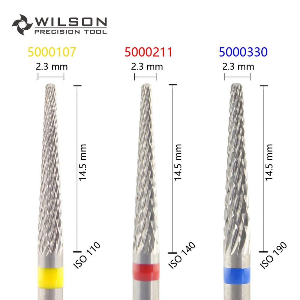 Conical Shape ISO 201 023 - Cross Cut - HP WILSON Tungsten Carbide Dental Lab burs 5000107 5000211 5000330Conical Shape ISO 201 023 - Cross Cut - HP WILSON Tungsten Carbide Dental Lab burs 5000107 5000211 5000330