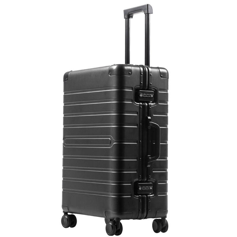 BeaSumore 100% Aluminum-magnesium alloy Men Rolling Luggage Spinner Wheel Suitcase 20 inch Cabin Trolley Password Travel bagBeaSumore 100% Aluminum-magnesium alloy Men Rolling Luggage Spinner Wheel Suitcase 20 inch Cabin Trolley Password Travel bag
