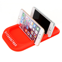 Non Slip Pad With Numbers For Key Cell Phone Iphone Parking GPS Holders Universal Car Dashboard