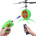 Helicóptero voando indução infravermelha jogando bola robô de controle remoto disco voador toys para o miúdo