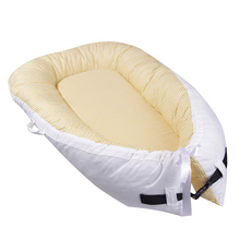 Medoboo 80*50cm Baby Sleeping Nest Newborn Portable Crib Bed Infant Cot Travel Bassinet Bumper 40