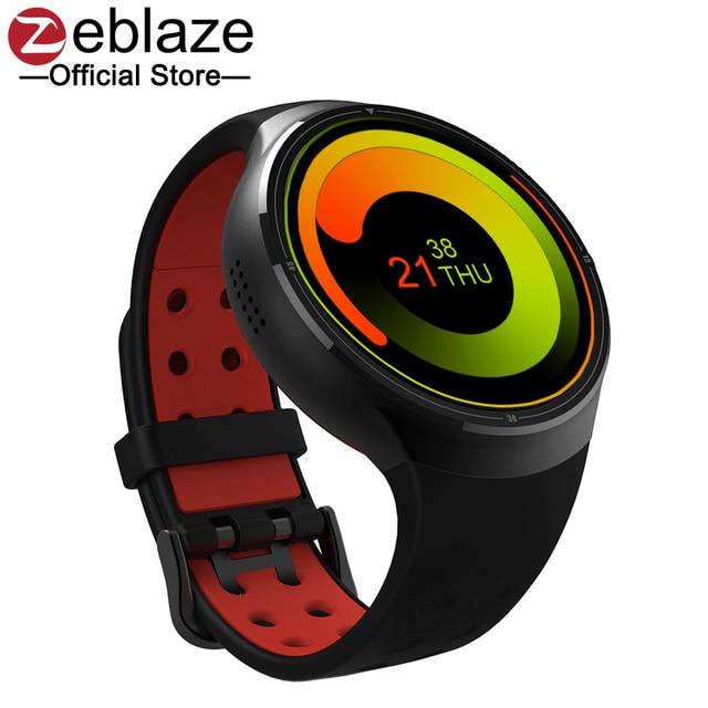 Горячая 2017 zeblaze ТОР 3 г Смарт часы-телефон Поддержка Android 5.1 MTK6580 1 г + 16 г Wi-Fi Bluetooth GPS SmartWatch для iOS и Android