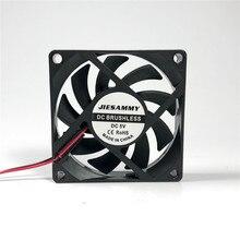 Кулер для процессора 70 мм 12 В 24 в 5 В Вентилятор охлаждения 70x70x15 супер тихий USB рукав/шарикоподшипник 7 см ноутбук вентилятор охлаждения процессора