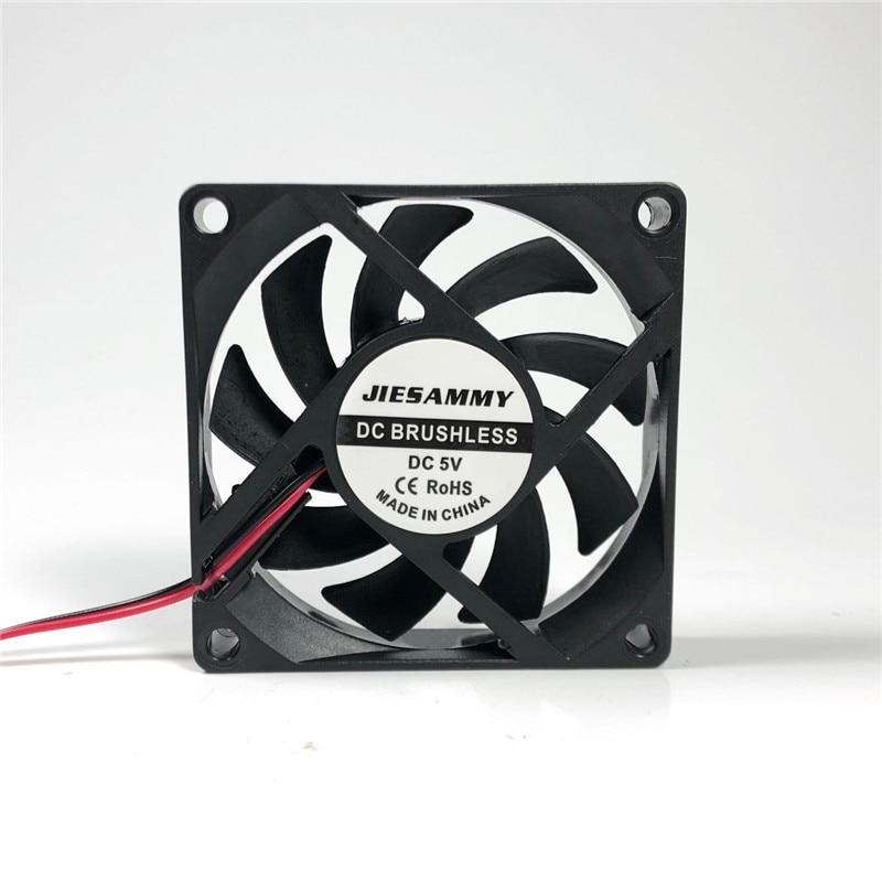 CPU Cooler 70mm 12V 24V 5V Cooling Fan 70x70x15 Super Silent USB Sleeve/Ball Bearing 7CM Laptop Cpu Cooling Fan