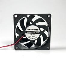 Кулер для процессора 70 мм 12 В 24 В 5 в охлаждающий вентилятор 70x70x15 супер тихий USB рукав/шарикоподшипник 7 см вентилятор для процессора ноутбука