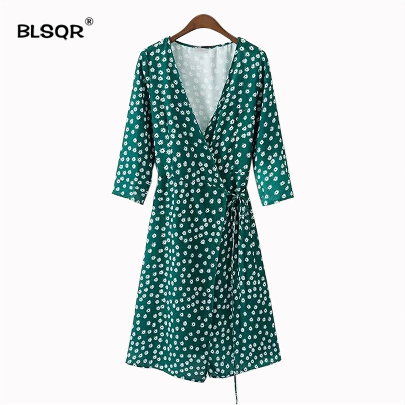 84643a7490f Buy bow tie dress green and get free shipping on AliExpress.com