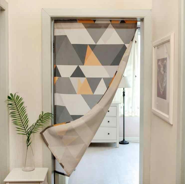 fyjafon door curtain printed door