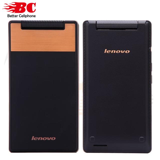 """Original lenovo a588t flip teléfono móvil android 4.4 mtk6582 quad core 512 mb ram 4 gb rom dual sim 4 """"toque Pantalla de la Cámara 5.0MP"""
