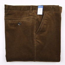 Mu Yuan Yang 50% Off Men s Long Pants Large Size Corduroy Solid Trousers 2020 New Winter Thicken Straight Trousers 38 40 42