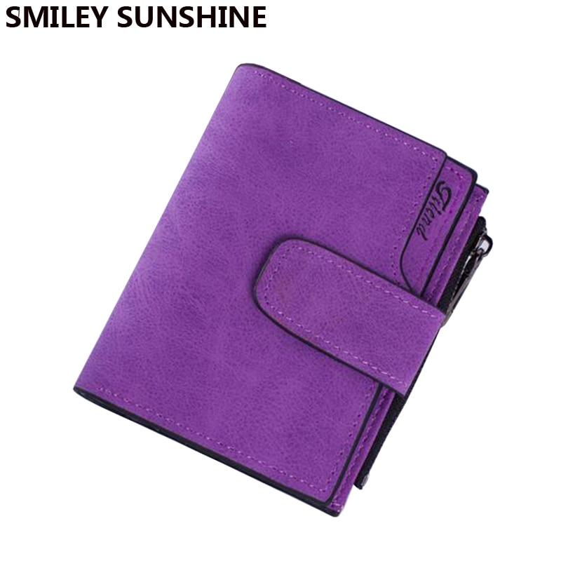 SMILEY SUNSHINE smarta kvinnor byter handväska pengar väska 2017 damer små myntpåsar kvinnor blixtlås myntpåsar innehavare tunn mynt väska