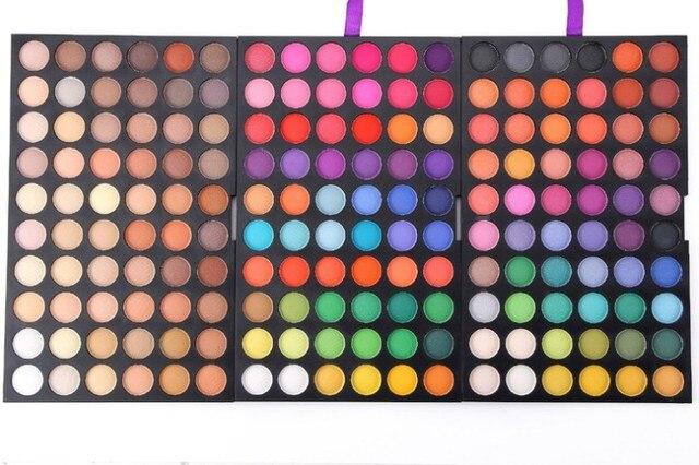 2016 новый 180 полный цветов тени для век косметика минеральная профессиональный макияж палитра