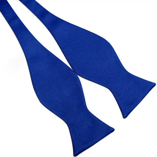Alla Moda Accessori Per Capelli Cravatte Solido Mens Papillon Di Colore Solido Pianura Di Seta Da Annodare Papillon 8 Colori Stile (In) Alla Moda;