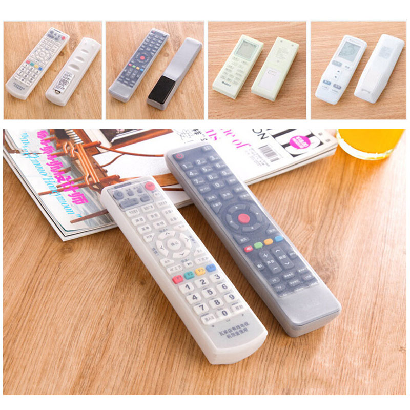Silicone Protection Kits Waterproof Dust Cover Home Air Conditioning 1 Pcs Remote Control Covers TV Remote Control