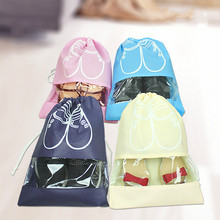 цены 5PCS/SET 10PCS/SET Travel Storage Bag Box Nylon 4 Colors Portable Organizer Bags Shoe Sorting Pouch Storage Shoe Box