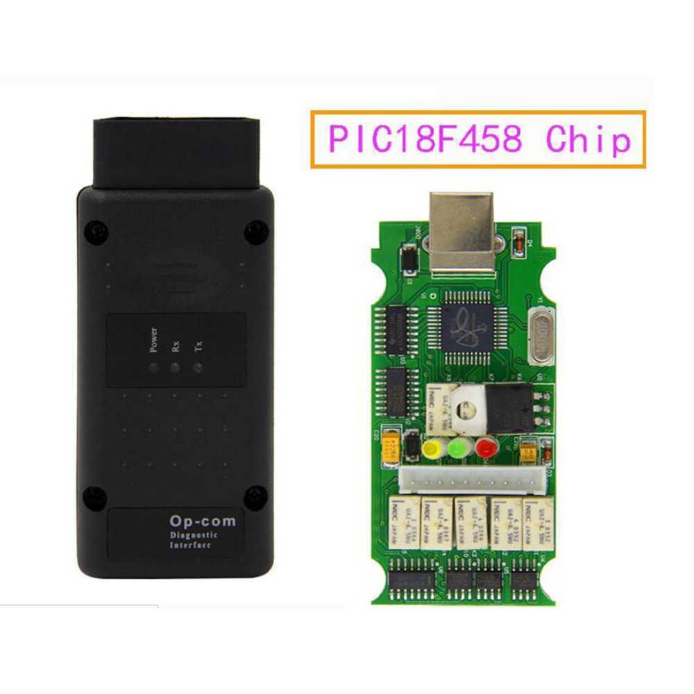 OPCOM V1.7 Professionale Strumento di Diagnostica Per Opel OP COM OP-COM Firmware V1.7 2014 V Può OBD2 Adapter Auto Scanner