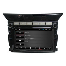 For Pilot capacitive multi-touch screen car dvd player GPS with GPS+3G+Wifi+DVD+Radio+BT+Ipod list+USB +SWC+ATV+MP4/MP5+Canbus