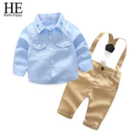 Baby Boy Outfit Boy Clothing 2018 Casual Spring Autumn Boy Star Shirt Overalls Two Piece Suit