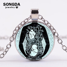 SONGDA Mother And Baby Necklace Mother Pregnant Baby Picture Necklace Simple Fashion Mom and Children Women Jewelry Mothers Day(China)