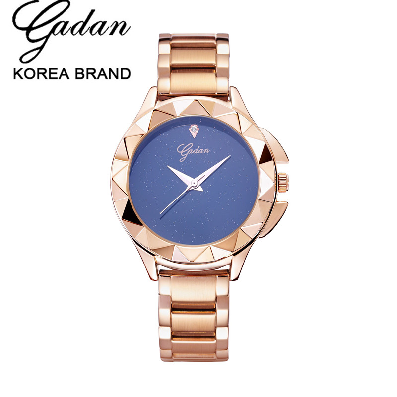 New YADAN Fashion Wrist Watch Women Shockproof Waterproof Steel Quartz Watch Clock Relogio Masculino Hodinky With new yadan xfcs fashion black womens watches waterproof ladies quartz watch simple female wrist watch relogio masculino clock