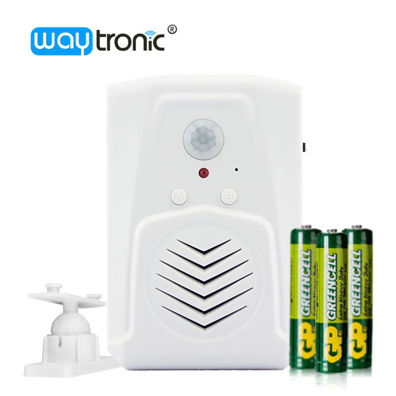 US $12 0 | Christmas Music Player Infrared Sensor Doorbell Door Bell Shop  Store Welcome Chime Special Sound Effect-in Doorbell from Security &