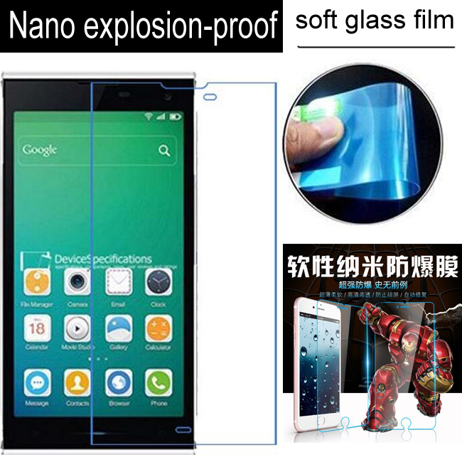 Nano Explosion-proof Soft Glass Clear Screen Protector Protective Lcd Film For Inew V7