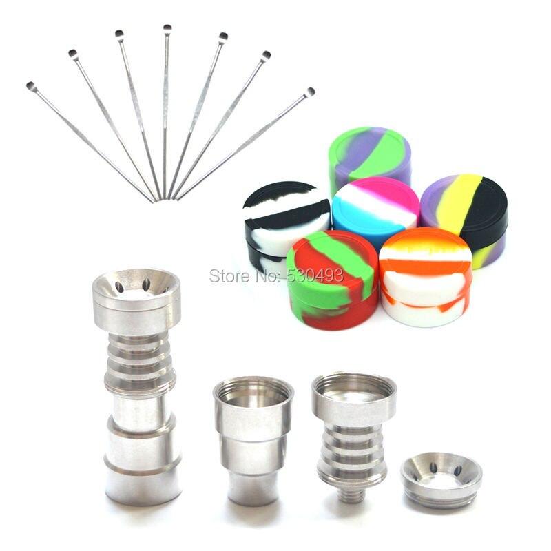 Titanium Nail 6 IN 1 Nail High Grade Titanium 14 / 18mm Dabber Tool - Στοματική υγιεινή