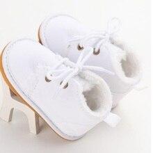 Ma001 Фирменная Новинка для малышей новорожденных для маленьких мальчиков девочек Зимние меховые теплые сапоги теплая обувь пинетки Повседневное леопард Первые ходоки 0-18 м
