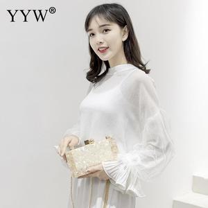 Image 3 - מדף Marbling לבן אקריליק תיבת ארנק מצמד יוקרה תיקי נשים Bgas מעצב Pochette Femme מצמד קיץ אקריליק יד שקיות