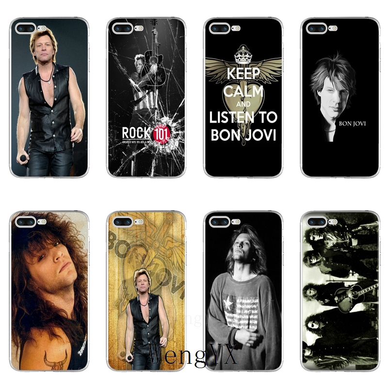 Jon Bon Jovi Slim silicone TPU Soft phone case For Xiaomi