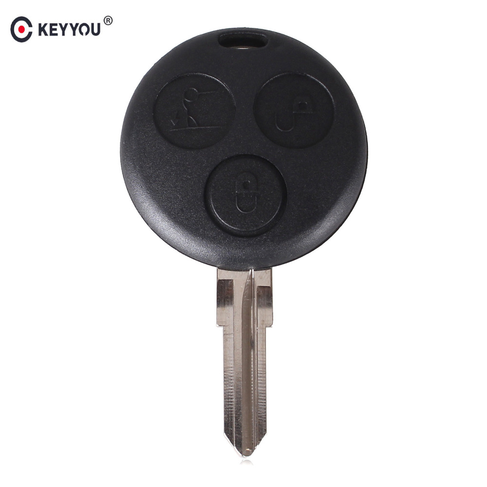 Keyyou replacement for mercedes benz smart fortwo cas 3 for Mercedes benz key fob replacement cost