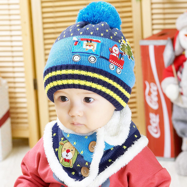 retail Cool christmas hat Baby Boy Girl Kids Infant Winter Warm Cap ...