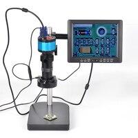 HD 2MP 1/3 дюймов CMOS VGA выход электронный цифровой микроскоп окуляр CCD 800 линий промышленных камера