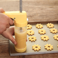 Baking Pastry Tools Cookie Mold Press Gun 16 Flower Mold 6 Pastry Tips Biscuit Cookie Cutter