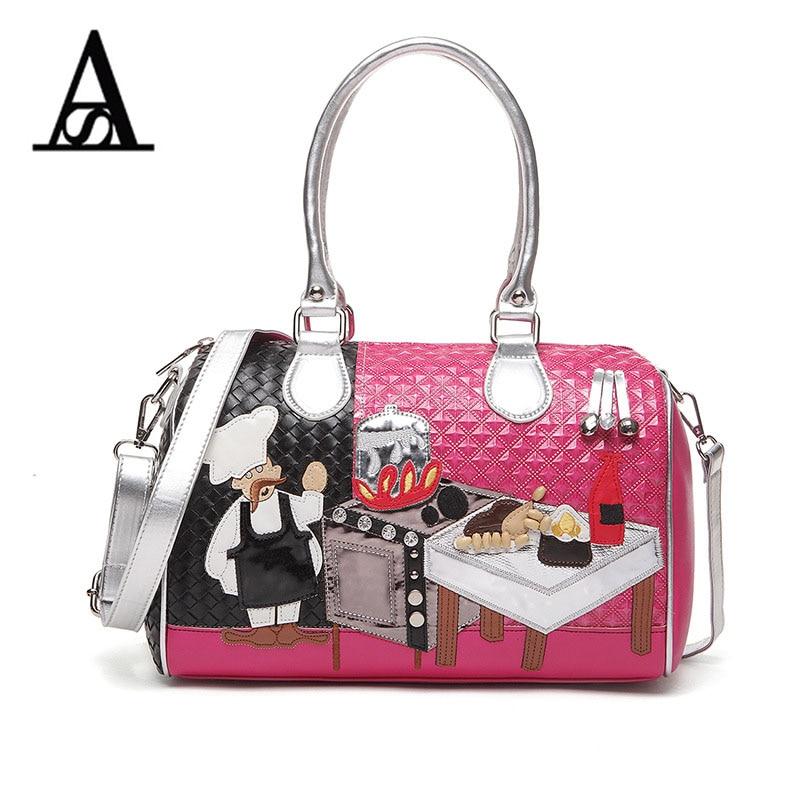 New braccialini exquisite Boston bag famous brand design ladies bag creative female satchel ladies leisure fashion women handbag цены