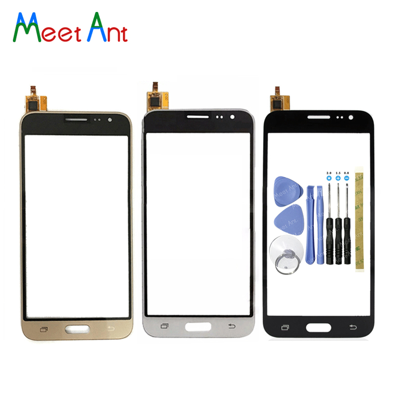 High Quality 5.0 For Samsung Galaxy J320 J3 2016 J320A J320M J320P J320 Touch Screen Digitizer Sensor Glass Lens Panel