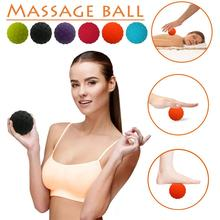 high-quality Pain Stress Relief Silicone Foot And Hand Massage Fitness Yoga Ball Lacrosse Ball Hockey Ball For Muscle Relaxation foot rocker calf ankle plantar muscle stretch board for achilles tendinitis sports yoga massage fitness pedal stretcher hot sale