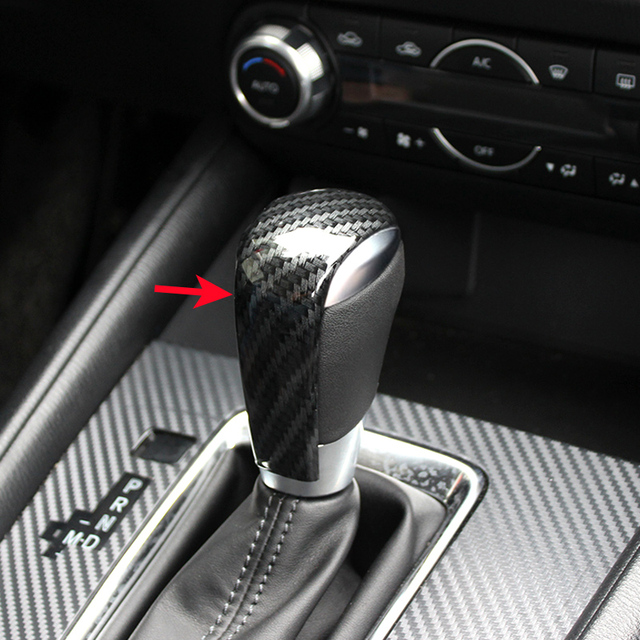 Gear Shift Knob Lever Trims For Mazda Cx 5 At 2017 2019 Cx5 Kf