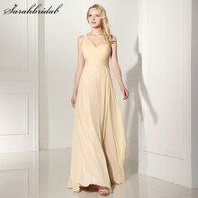 e89cb79856e Sweety Simple One Shoulder Bridesmaid Dresses A Line Handmade Sweetheart  Chiffon Long Formal Dress Vestido De Festa SD372