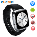 Android SmartWatch GSM CDMA 2G/3G WiFi GPS Smart Wrist Watch with Heart Rate 5MP Camera Dual Core 512MB+4GB TF Card