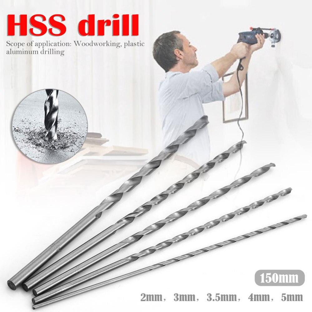 HSS Straight Shank 5.3mm Diameter Twist Drilling Bit for Electric Drill