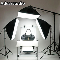 Professional Photography Lighting Equipment shooting table Kit with Softbox Light stand with boom arm Light Photo kit set CD50Y