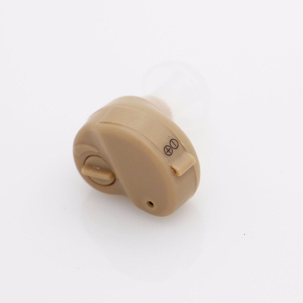 2017 New Hot Selling Ite Hearing Aid Portable Small Mini In The Ear Invisible Sound Amplifier Adjustable Tone Digital Aids Care 1
