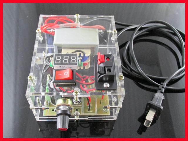 LM317 DIY KIT DIY Ajustável fonte de alimentação regulada módulo LM317 Suíte DIY estudantes práticos suite Eletrônica DIY