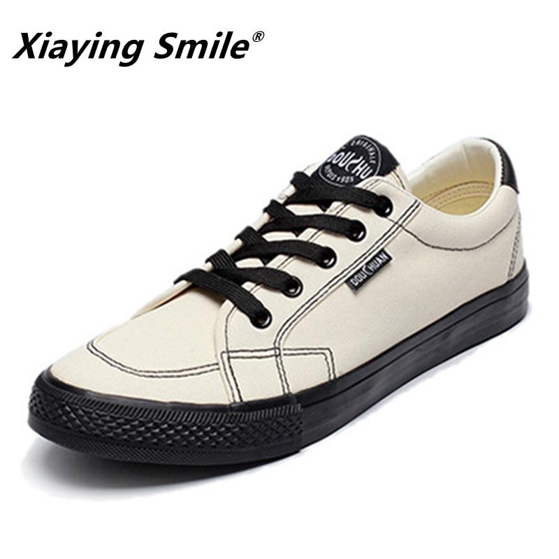 2018 Fashion Casual Shoes meestele Tennis Cavas kingad Flat - Meeste jalatsid - Foto 2