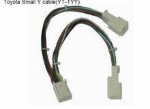 Yatour adaptador y cable conector pequeño 6 + 6 (yt-tyy) para audio navi aux cdc tuning 2005-2012 toyota/lexus/scion modelos