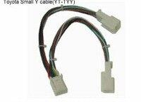 Yatour y adapter złącze kabla małe 6 + 6 (yt-tyy) dla navi audio aux cdc tuning 2005-2012 toyota/lexus/scion modele